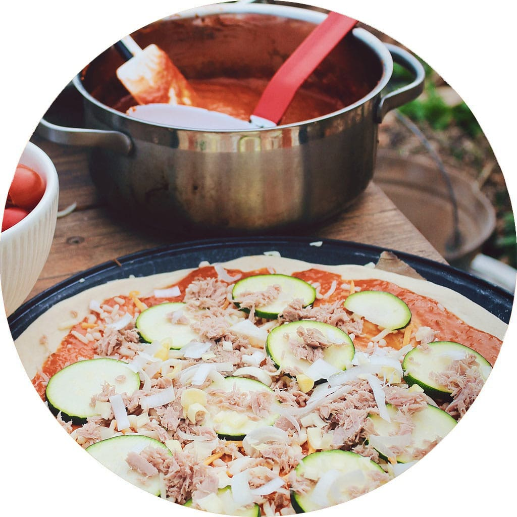 composez votre pizza